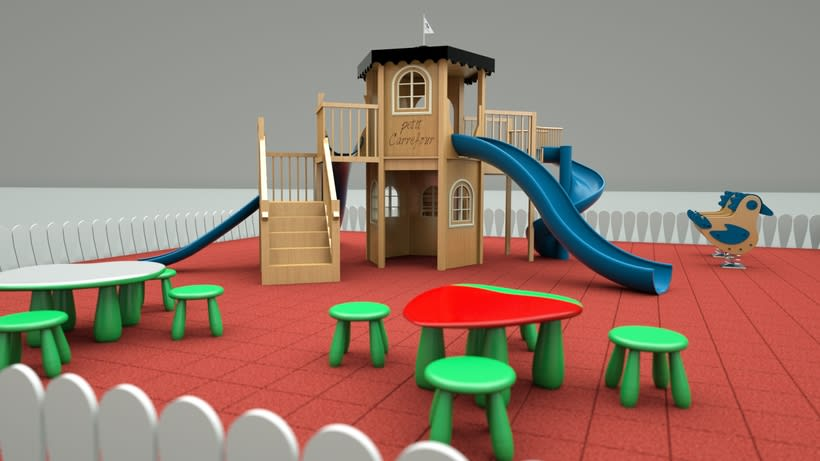 3d - playgrounds 0