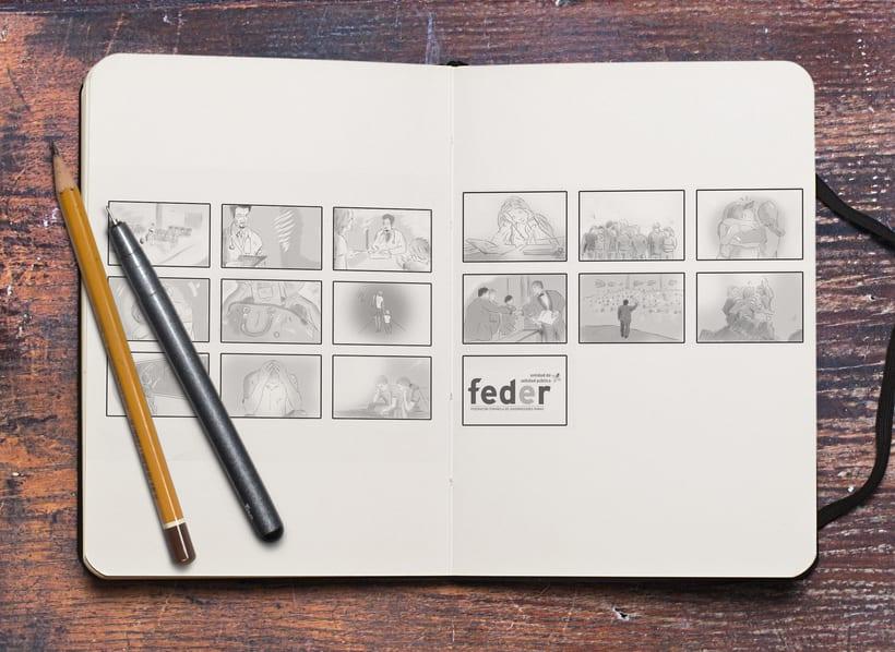 Storyboards: Jack Daniel's/ FEDER 5