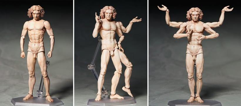 Figura de acción de El Hombre de Vitruvio 3