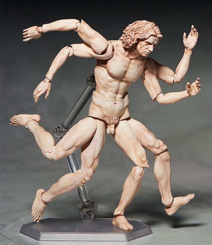 Figura de acción de El Hombre de Vitruvio 4