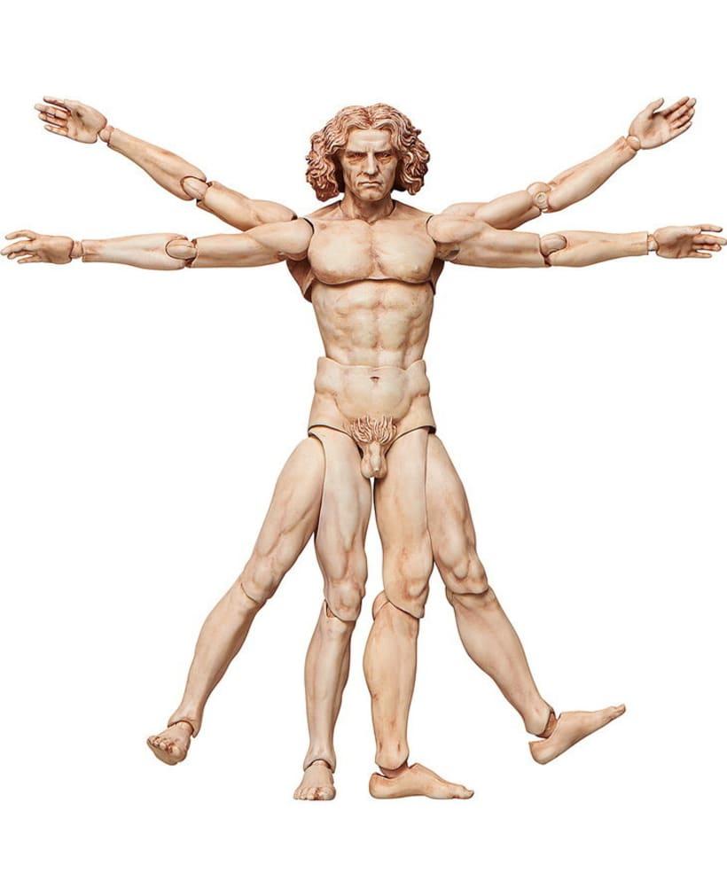 Figura de acción de El Hombre de Vitruvio 2