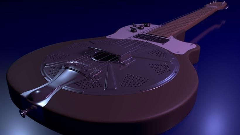Resoelectric Revolver. Diseño Maya. Render Mental Ray. 5