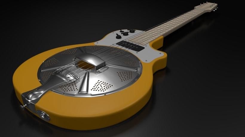 Resoelectric Revolver. Diseño Maya. Render Mental Ray. 3