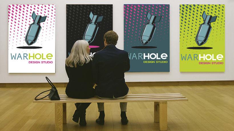 WarHole Design Studio Logos & Colours. 2