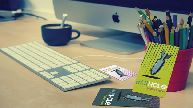 WarHole Design Studio Logos & Colours. 1