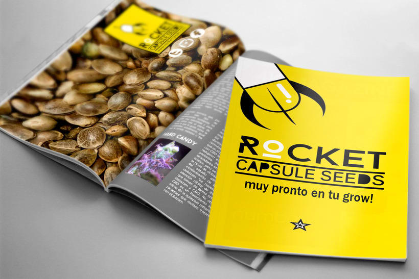 Rocket Capsule Seeds Image & Packaging 1