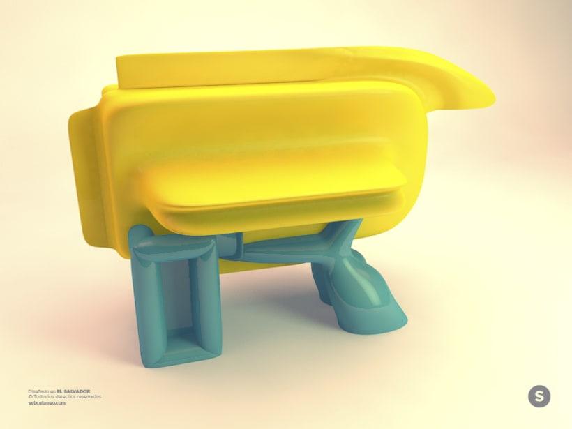 Letter R - 3D Type -1