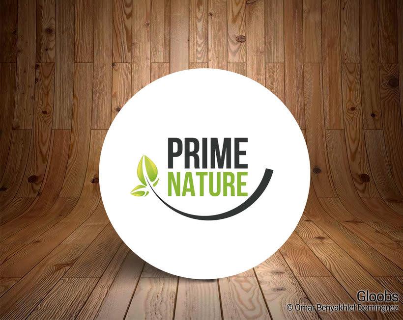 Prime Nature. Diseño imagen corporativa y web -1