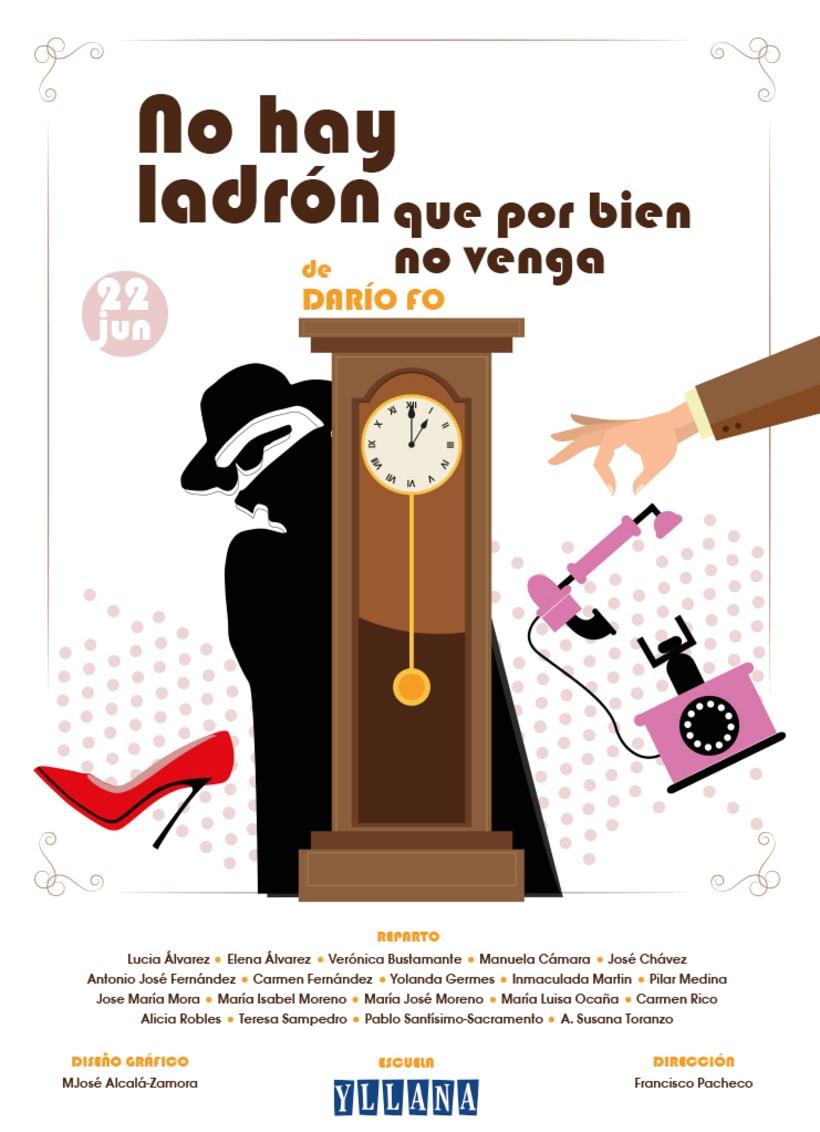 Cartel Teatro Yllana. Junio 2016 -1