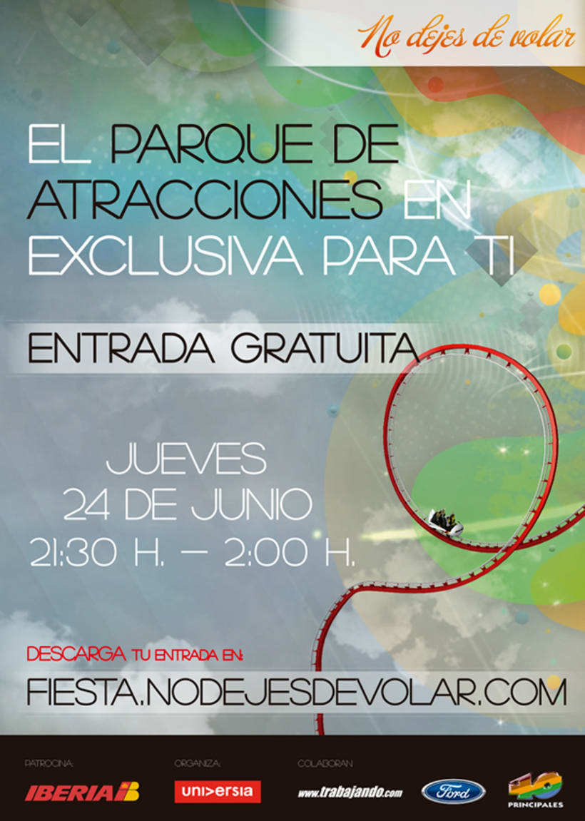 """Diseño de Campaña para Iberia, """"No dejes de volar"""" 0"""