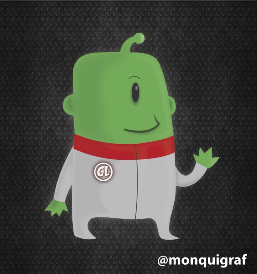 #Diseño gráfico e #ilustracion de personaje para @coudlain #photoshop #illustrator #asturias -1
