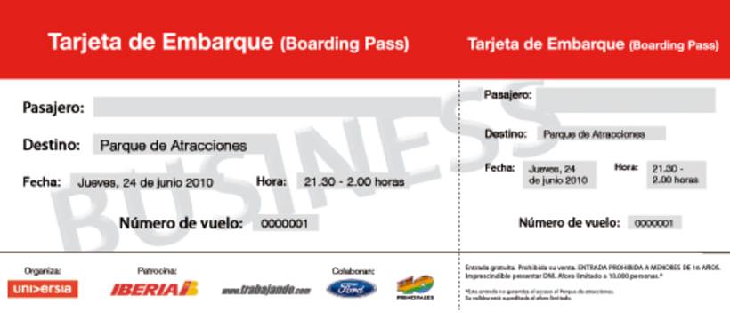 """Diseño de Campaña para Iberia, """"No dejes de volar"""" 2"""