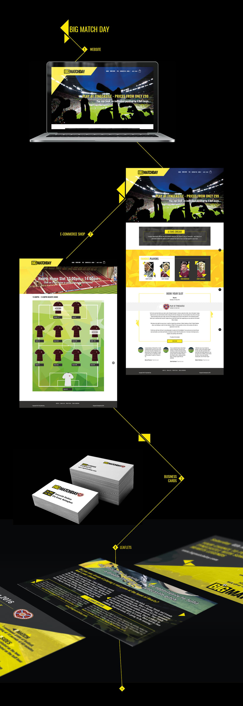 Big Match Day, diseño web -1