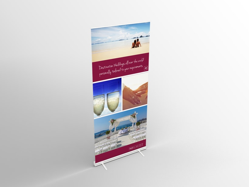 Travel Counsellors, diseño de displays 0