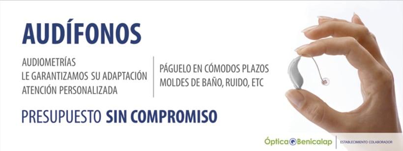 Publicidad Óptica Benicalap Valencia 1