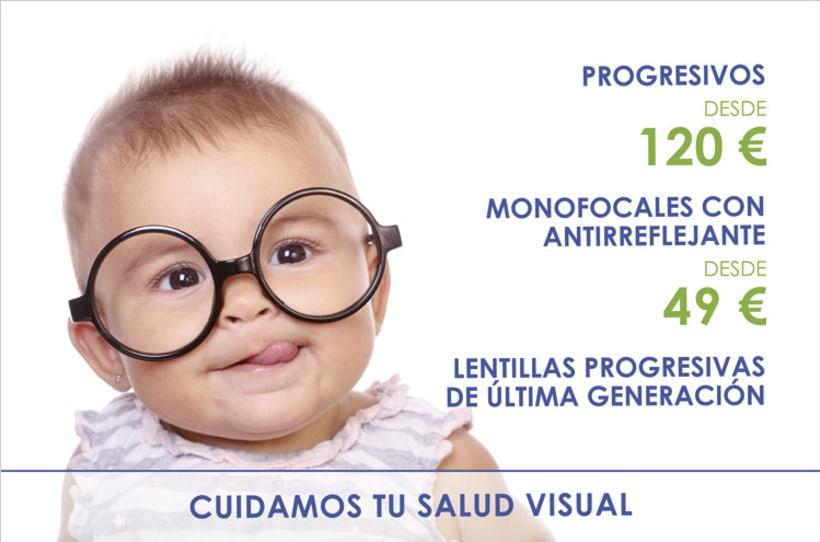 Publicidad Óptica Benicalap Valencia 0