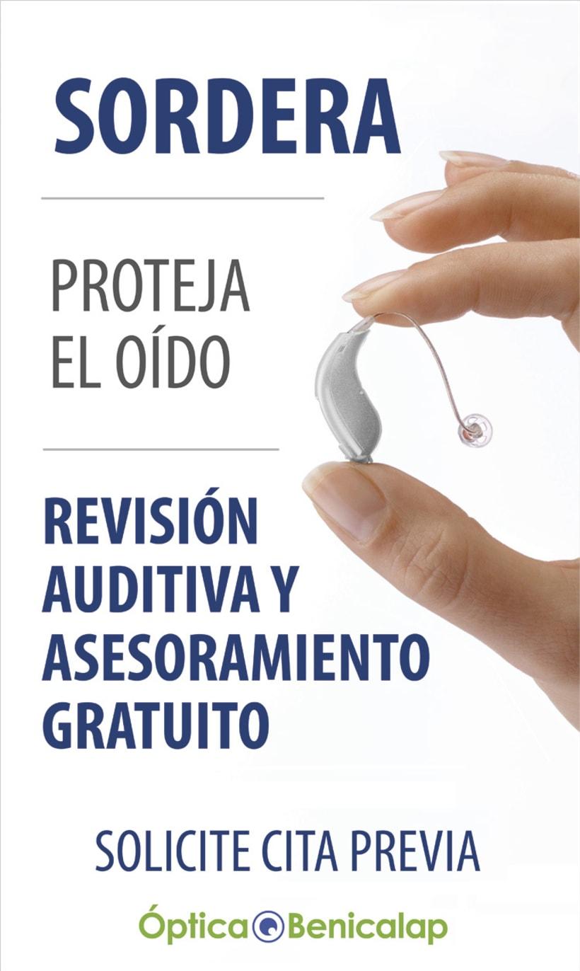 Publicidad Óptica Benicalap Valencia 2