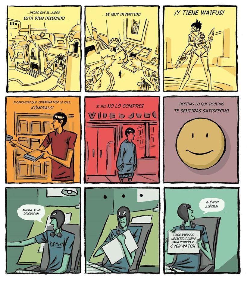 Mi Proyecto del curso: El cómic es otra historia 0
