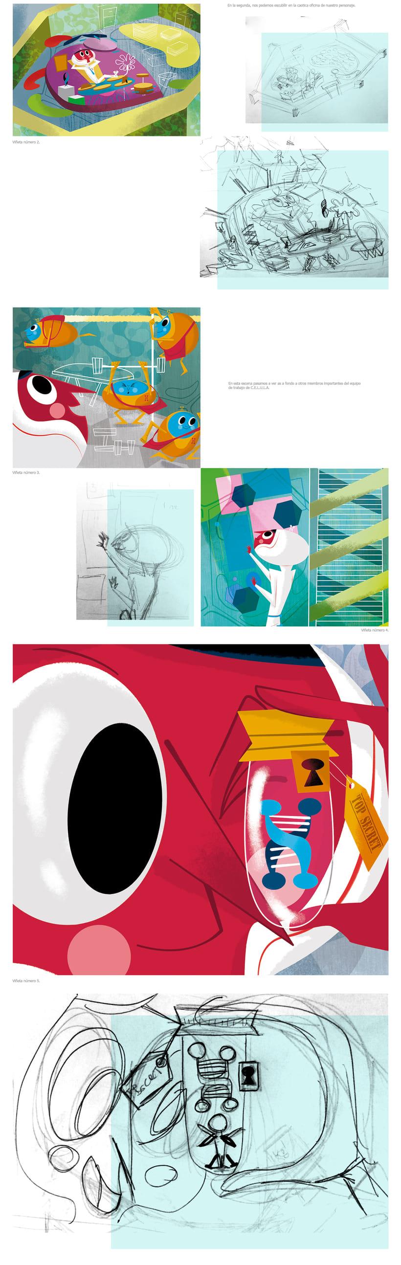 Mi Proyecto del curso: Ilustración, nudo y desenlace 1