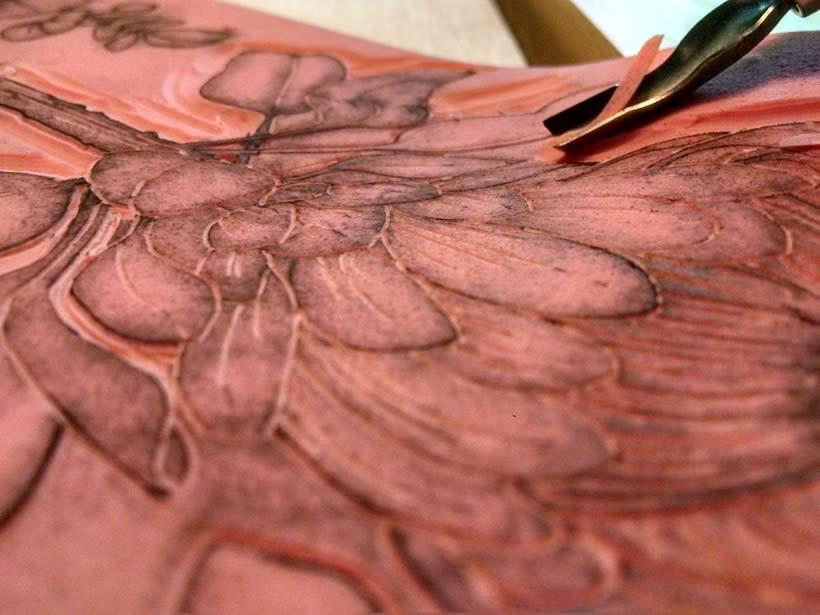 Experimentando con Carvado de Sellos por Anna López Real 1