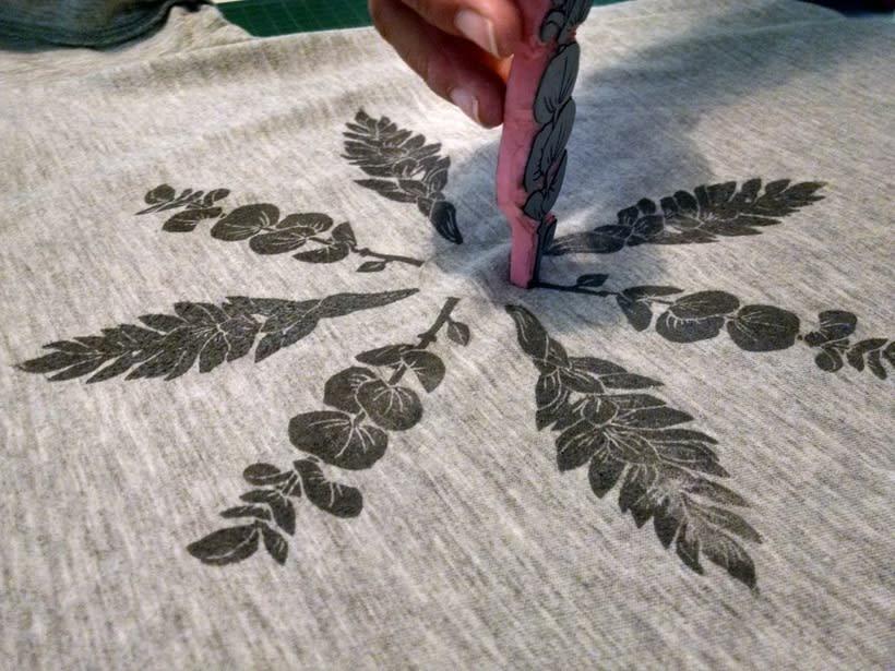 Experimentando con Carvado de Sellos por Anna López Real 9
