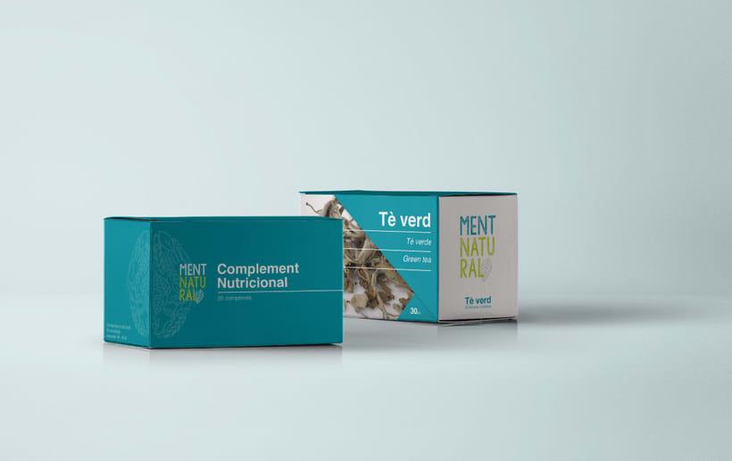 Ment Natural / Branding 3