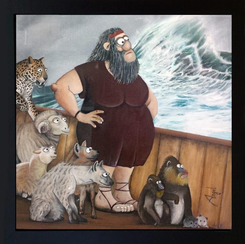 Noe (Óleo sobre lienzo) 1