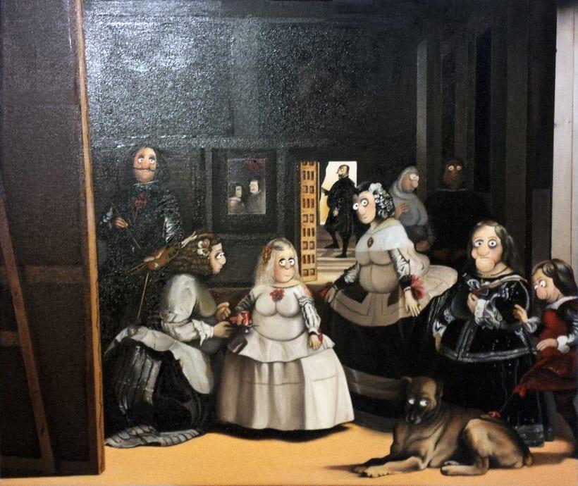 Mis Meninas (Óleo sobre lienzo) 0