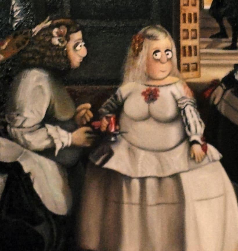 Mis Meninas (Óleo sobre lienzo) 1