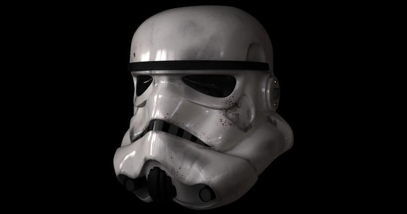 Casco Stormtrooper 1