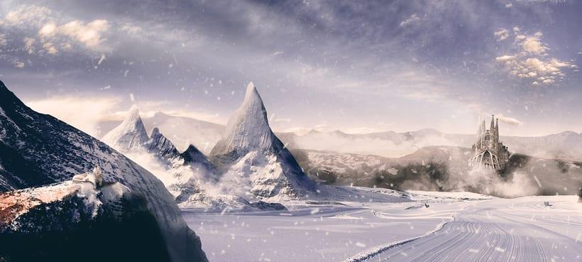 La sagrada familia en sierra nevada -1