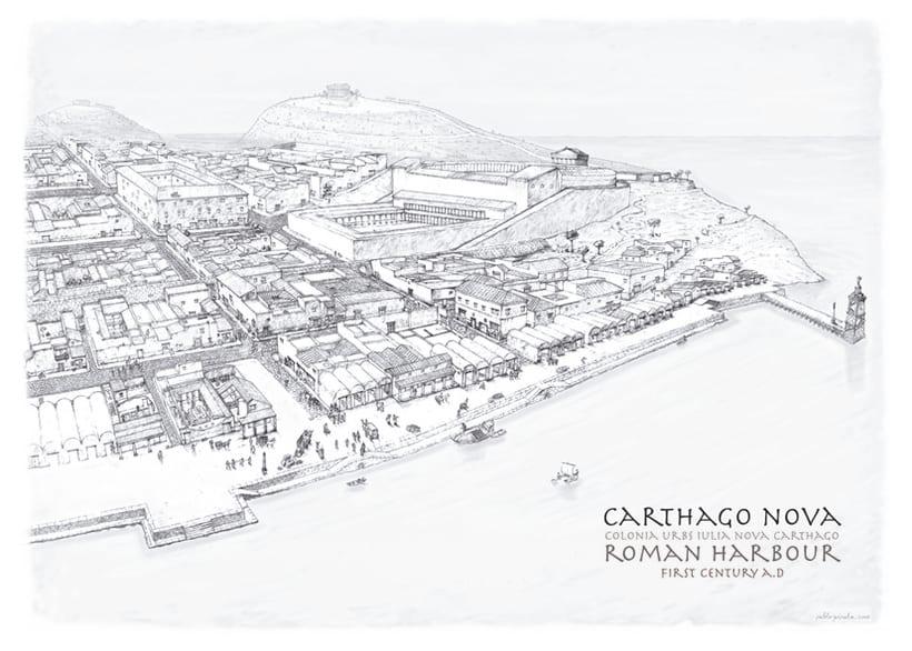Carthago-Nova siglo I. d.C 0