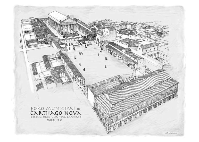 Carthago-Nova siglo I. d.C 1
