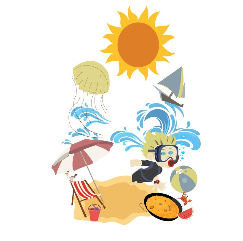 Mi Proyecto del curso: Ilustración exprés con Illustrator y Photoshop. 1
