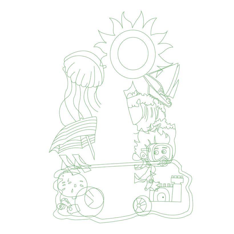 Mi Proyecto del curso: Ilustración exprés con Illustrator y Photoshop. 2