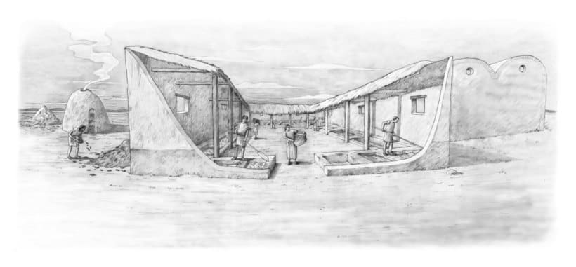 Ceuta prerromana , factoria de salazón romana y Ceuta época meriní. III a.C. II d.C y XIV d.C. -1