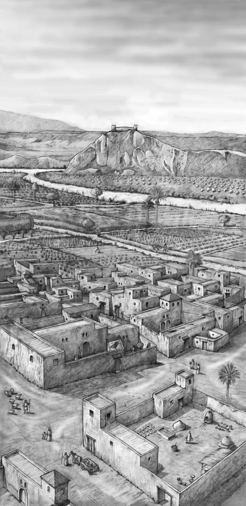 Fase islámica. Lorca. Murcia. Siglo X-XIII d.C -1