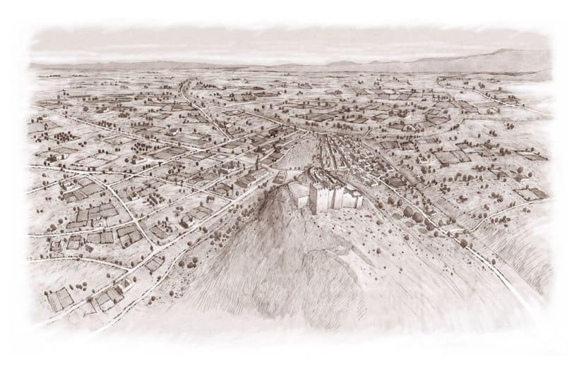 Alhama de Murcia. Baños romanos. Poblado medieval. s. I d.C./ s.XIII d.c. 1