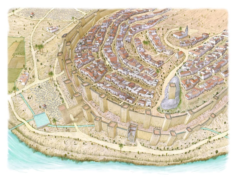 Fase islámica. Lorca. Murcia. Siglo X-XIII d.C 3