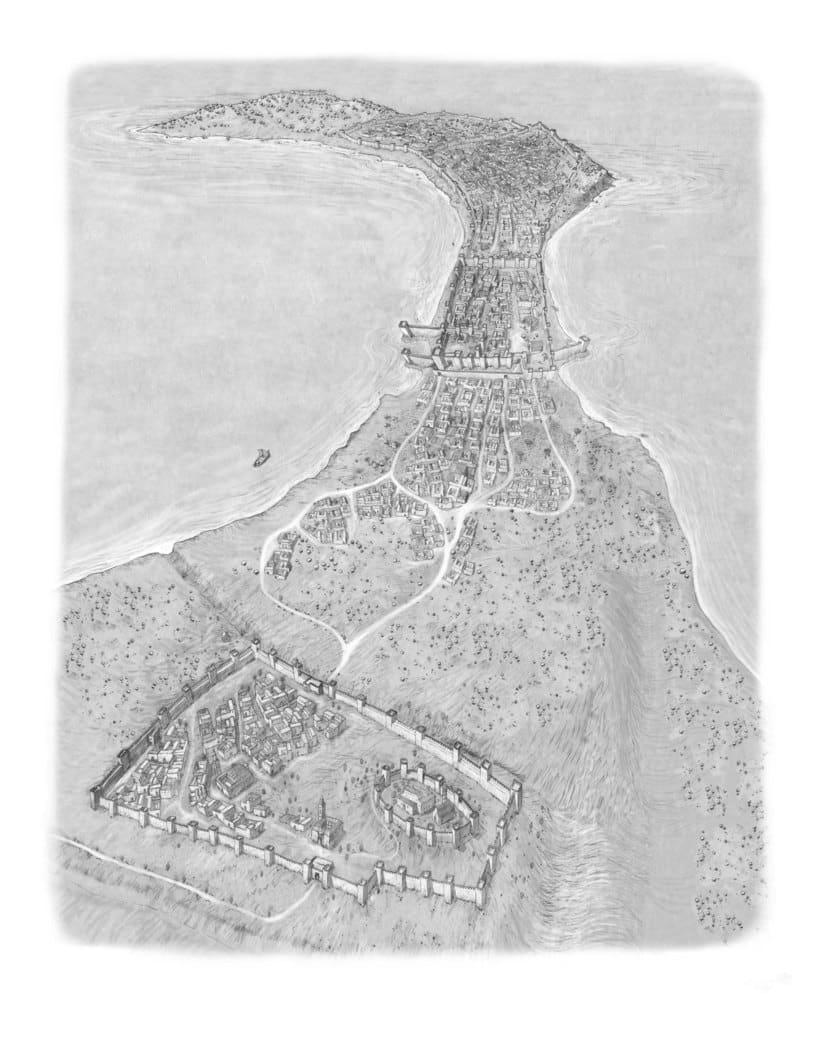 Ceuta prerromana , factoria de salazón romana y Ceuta época meriní. III a.C. II d.C y XIV d.C. 1