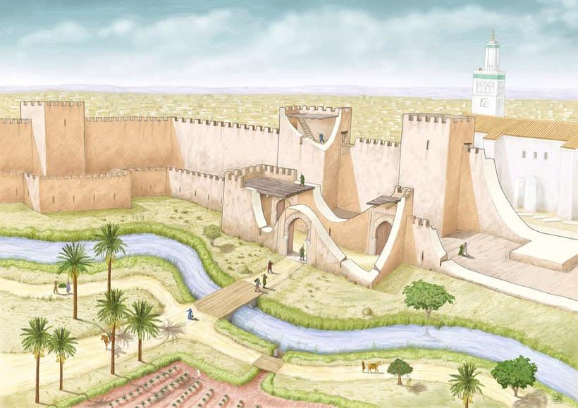 Murcia en época islámica. S.XIII d.c. -1