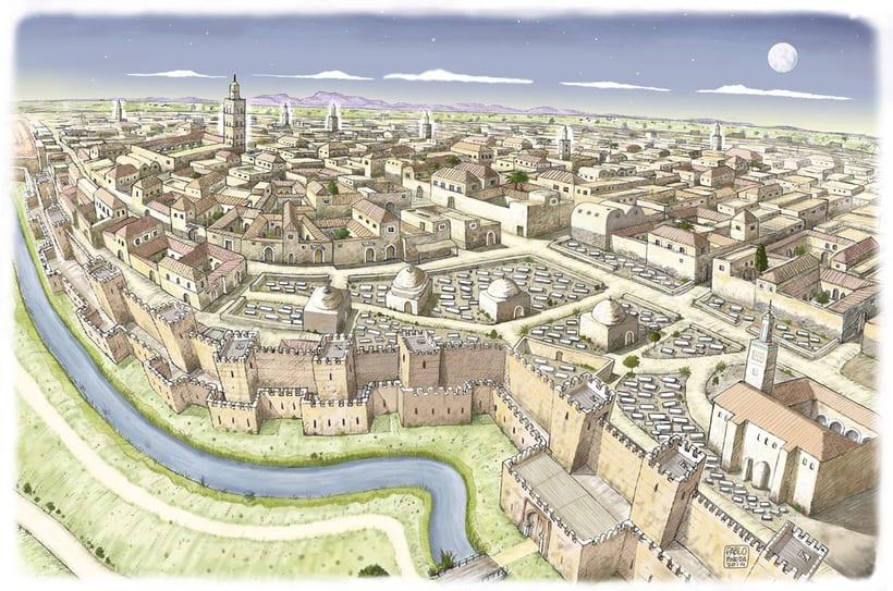 Murcia en época islámica. S.XIII d.c. 0