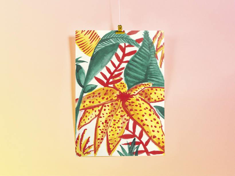 Tropical Print -1