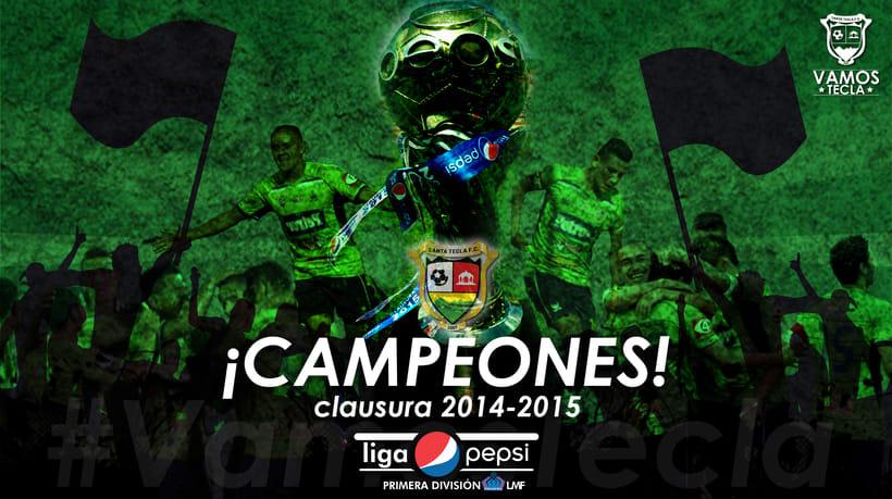 Santa Tecla Fútbol Club - Campeón Clausura 2015 1