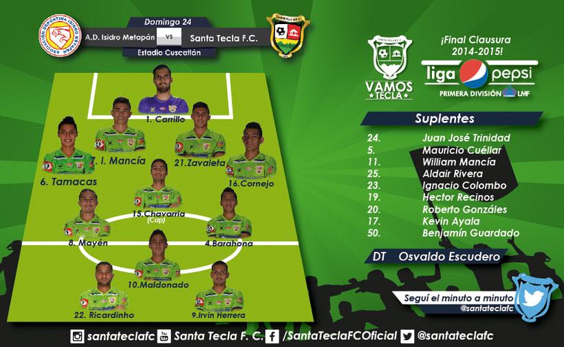 Santa Tecla Fútbol Club - Campeón Clausura 2015 8