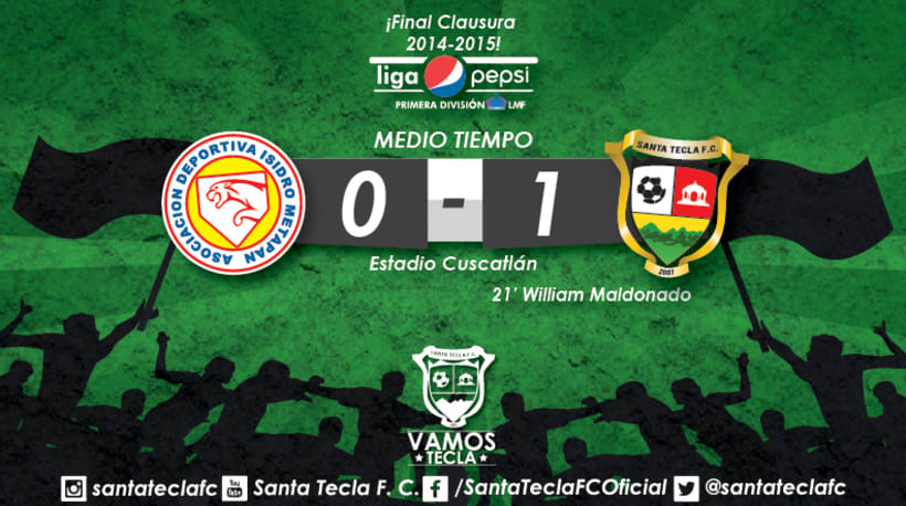 Santa Tecla Fútbol Club - Campeón Clausura 2015 6