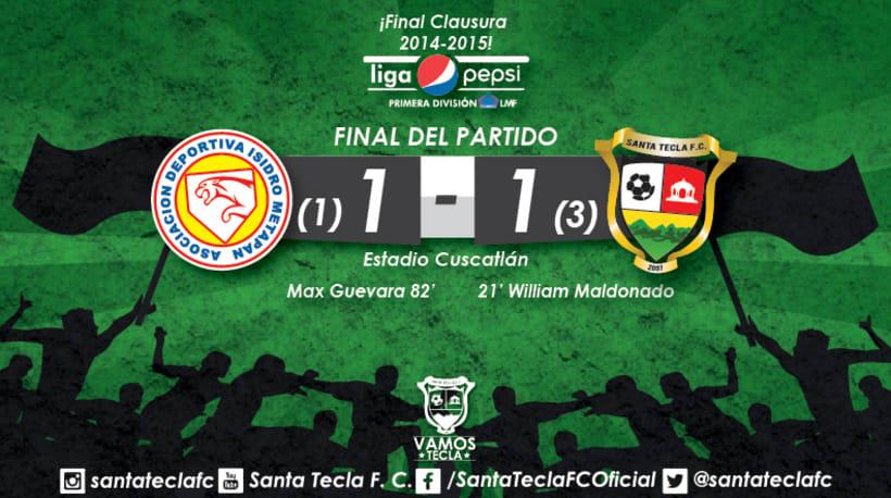 Santa Tecla Fútbol Club - Campeón Clausura 2015 3