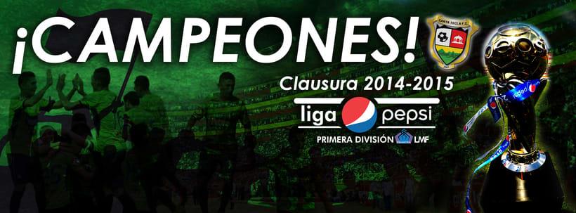 Santa Tecla Fútbol Club - Campeón Clausura 2015 2
