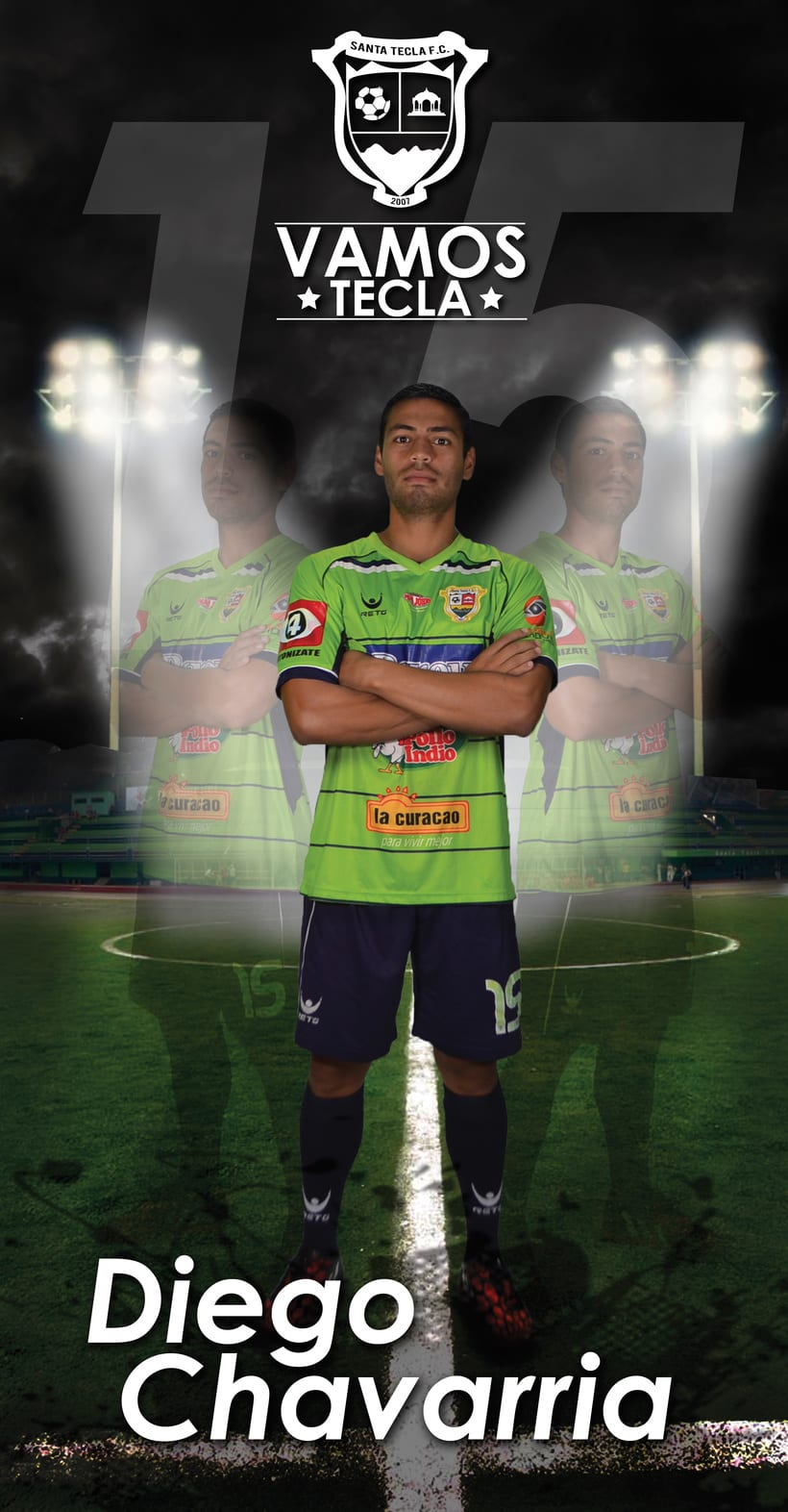 Santa Tecla Fútbol Club - Campeón Clausura 2015 15
