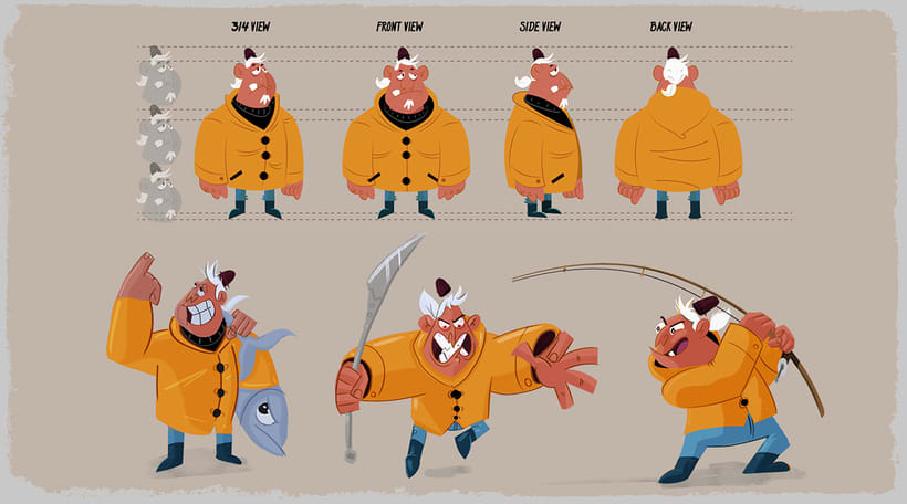 Character Design & Visual Development Portfolio 2016 3